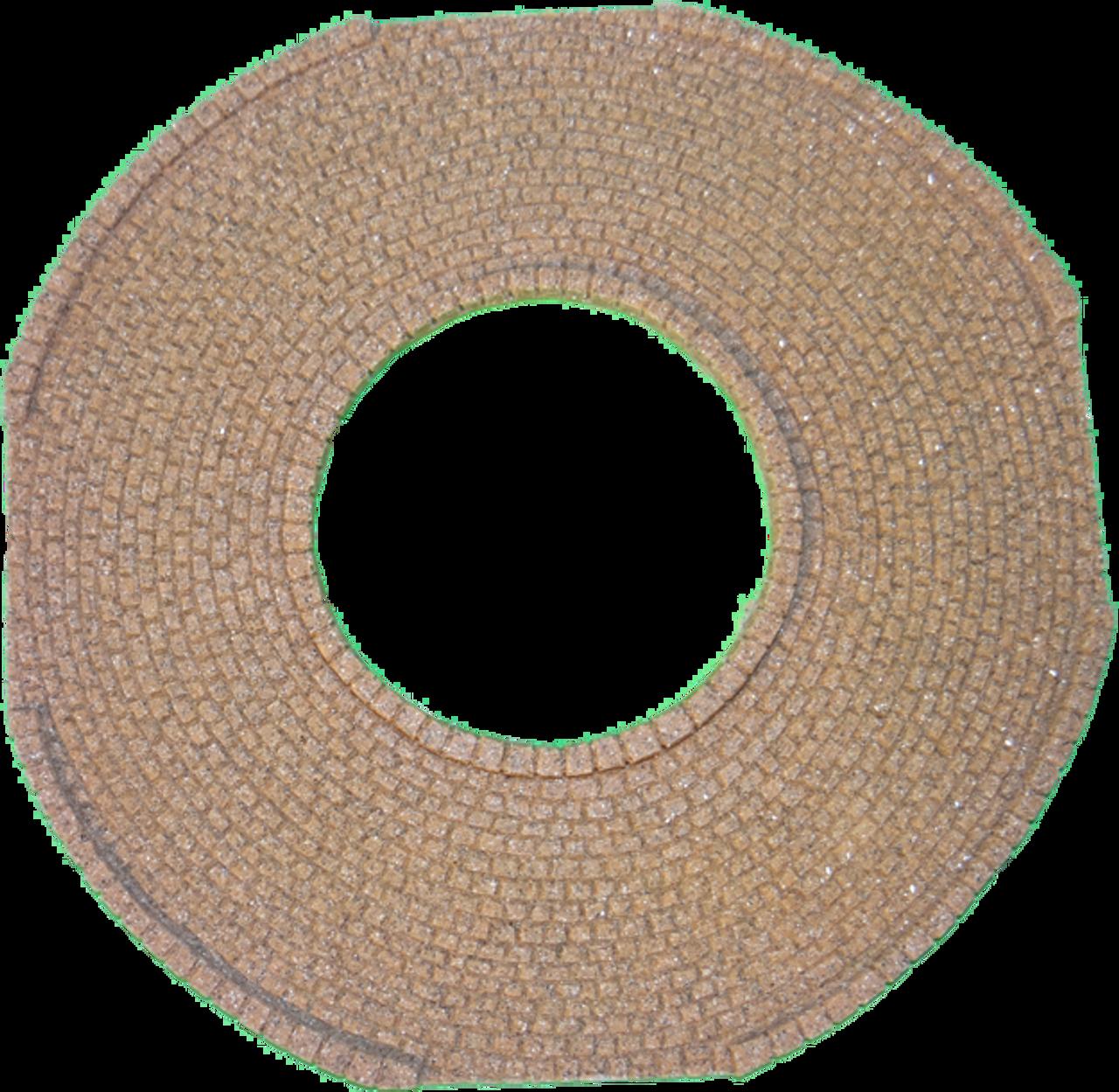 1147-Mediterranean Cobblestone Roundabout
