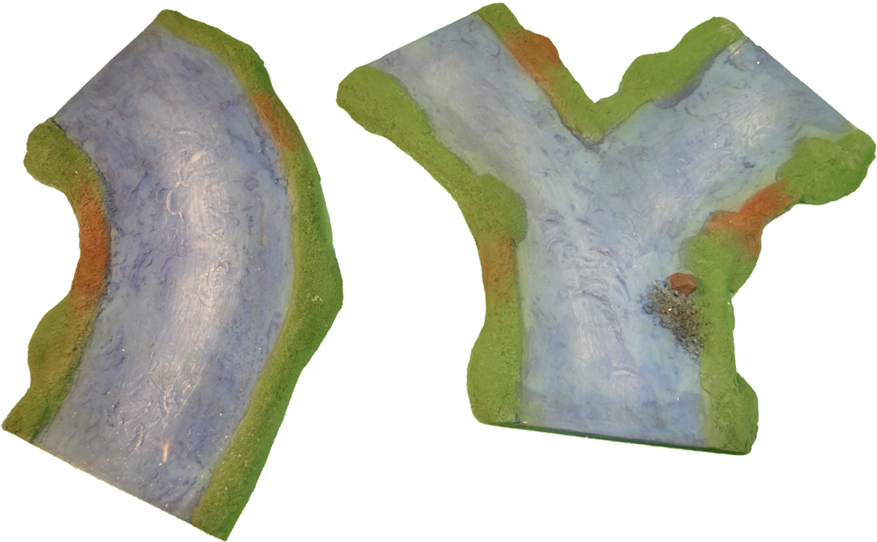 1265-Blue River Junction Set 3pc