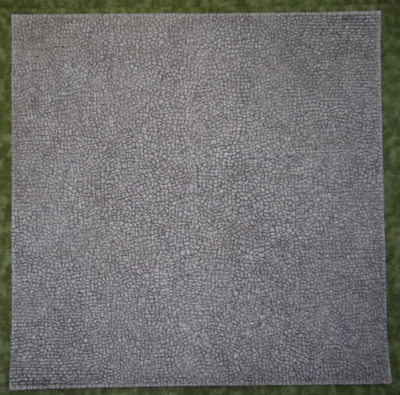 1113-Cobblestone Euro Gray 12x12 Mat