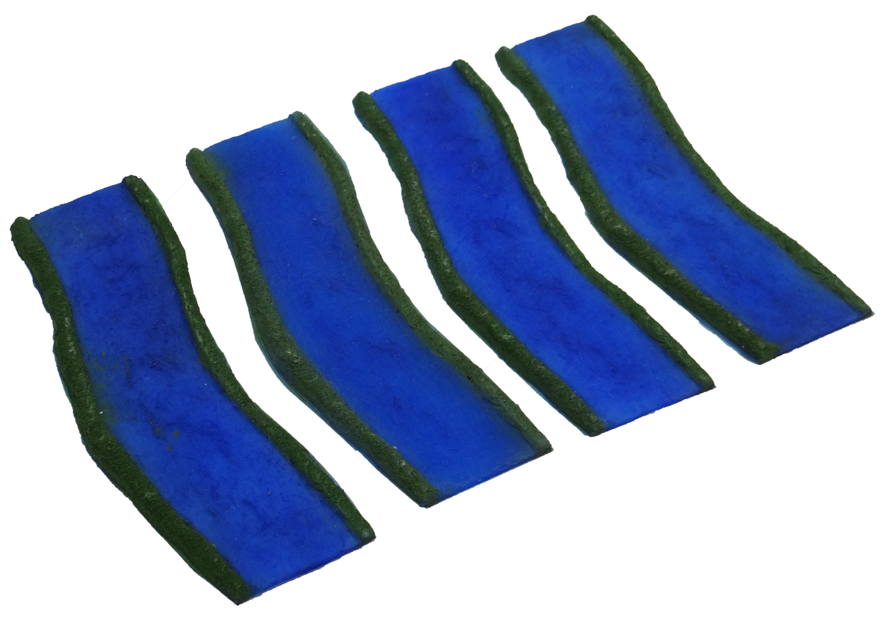 1351-4pc Straight Painted River Pack