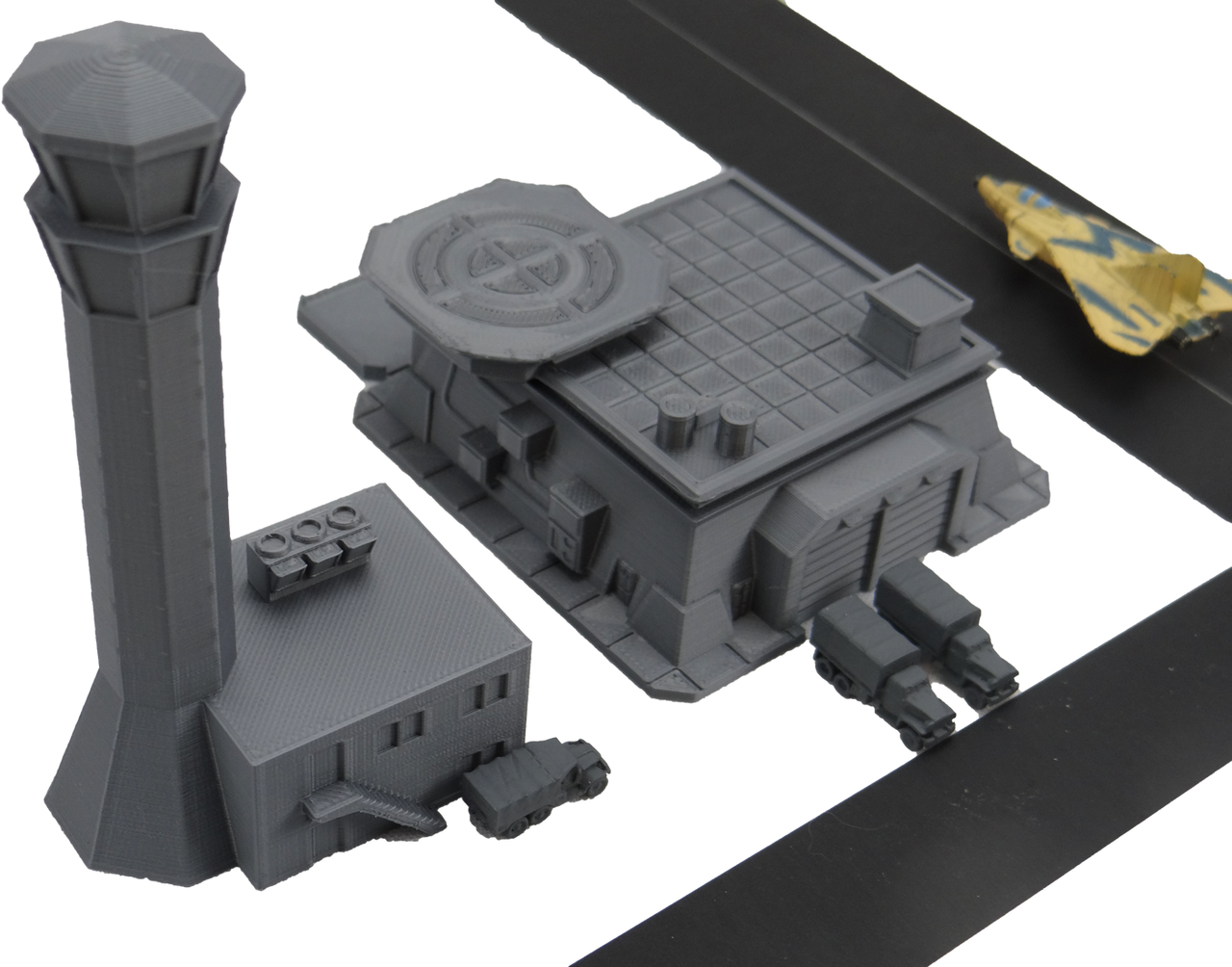 6mm Terrain Control Tower and Terminal