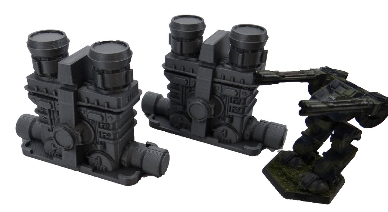 1395-28mm Plasma Engine (2 each)