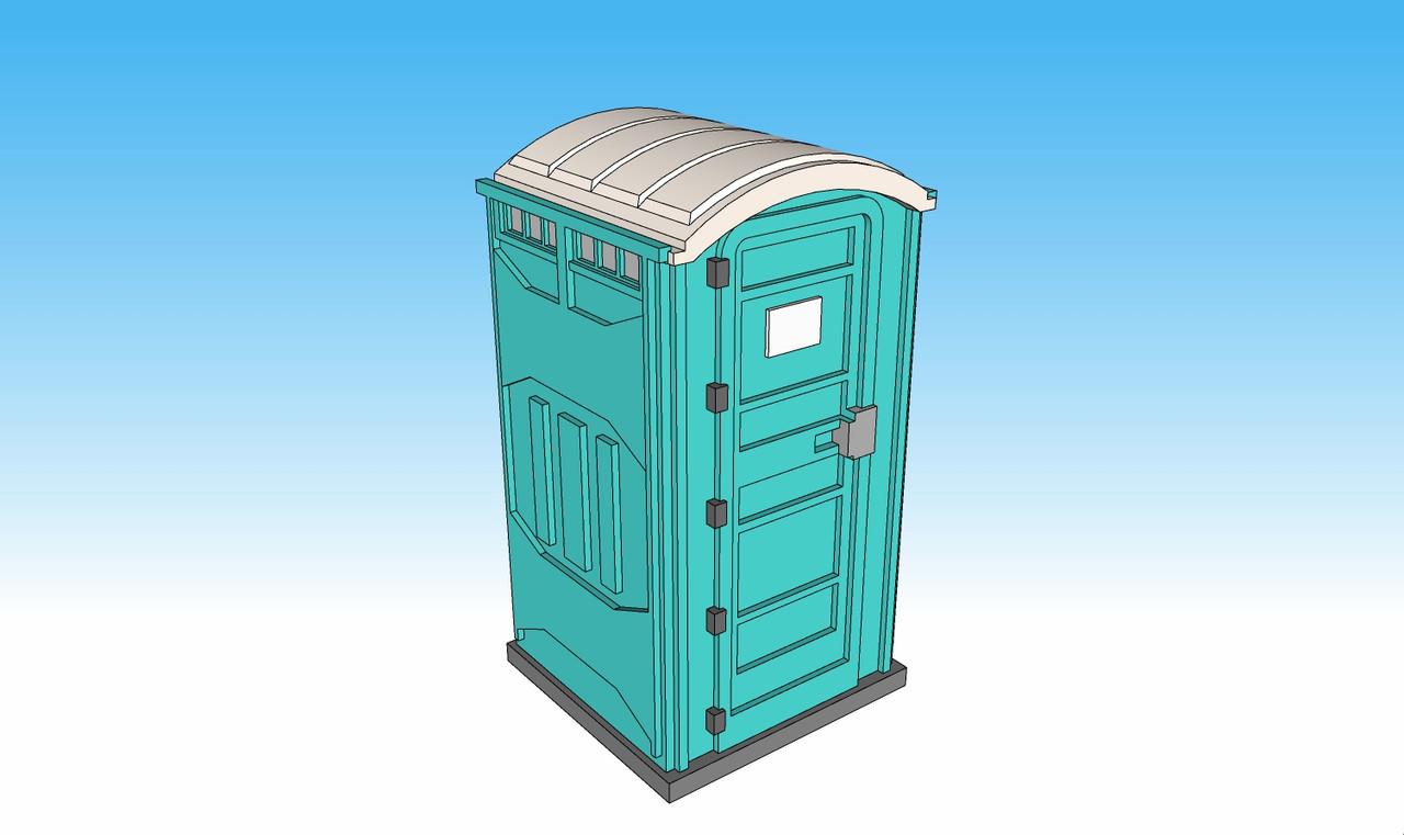 1403-28mm Porta Potty (4 each)