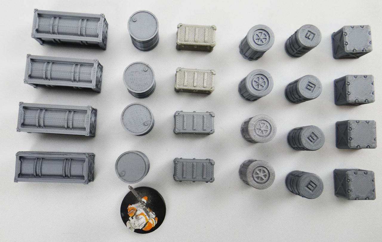 1412-Sci-Fi Cargo Assortment 24pcs