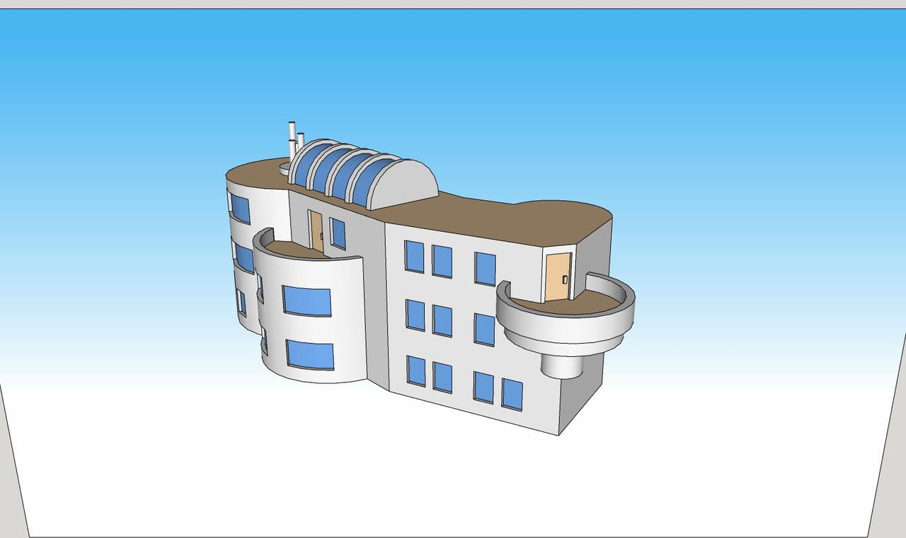 1371 Bio Research Facility left side illustration