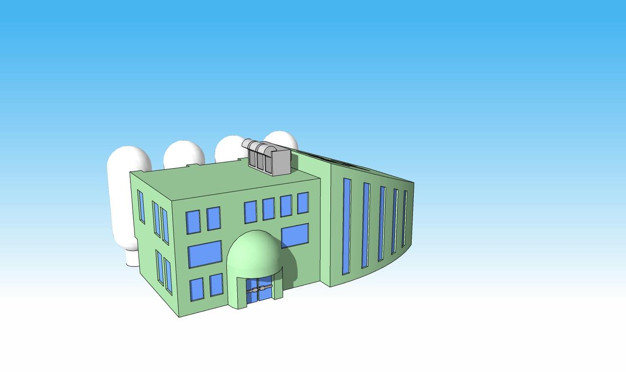 1371 Bio Research Facility illustration side