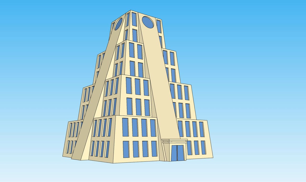 6mm Zigg Building picture left angle