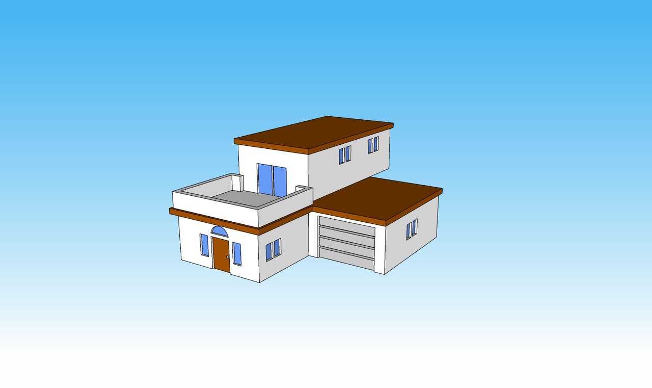 6mm Block House picture front