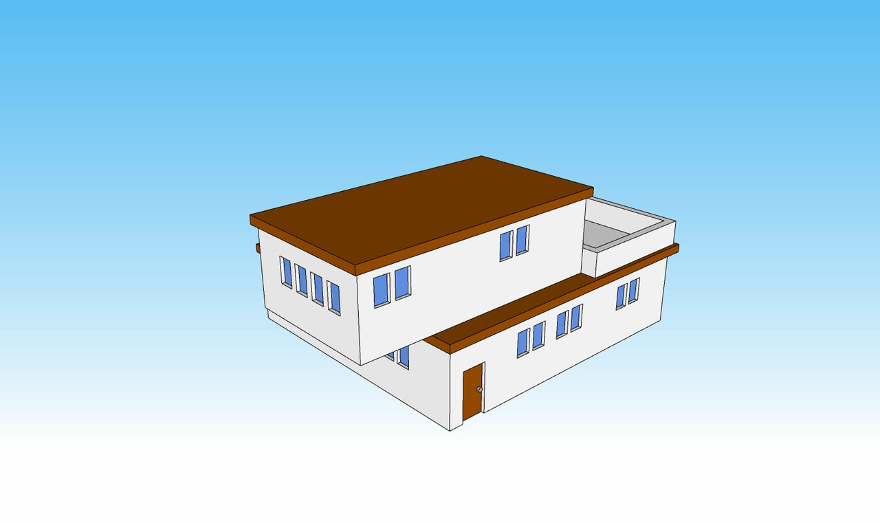 6mm Block House side picture