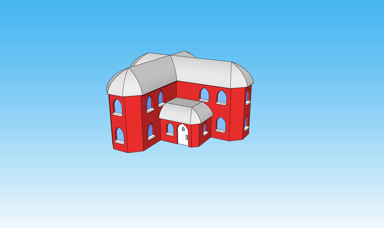 6mm Gothic House front picture