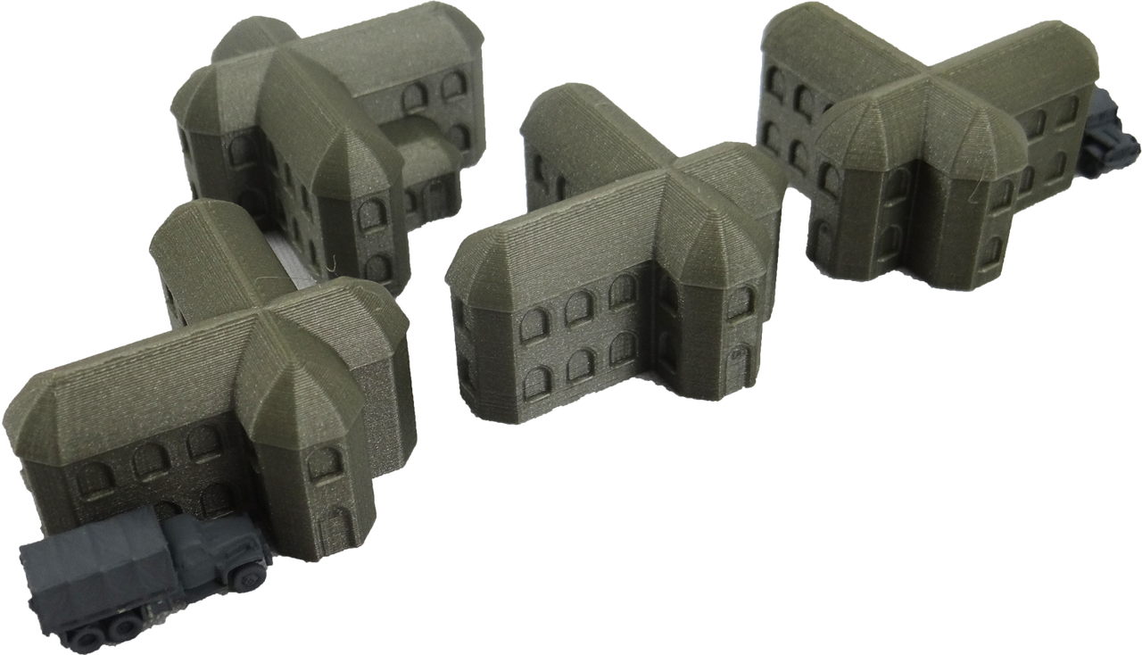 6mm Gothic House back view