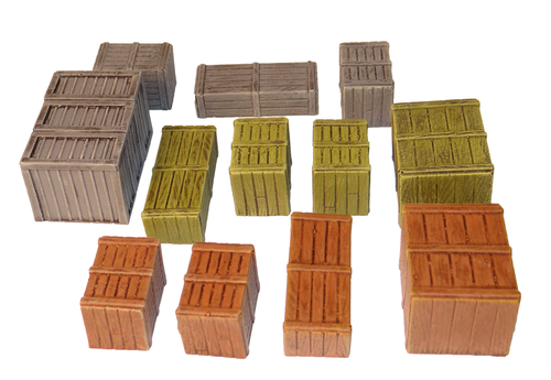 1189-Crate Assortment 12 pc