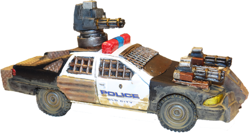 1227-The Enforcer Vehicle