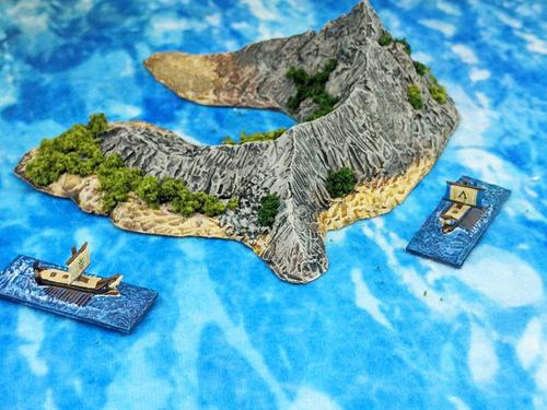 1269-1/700th Marshall U Shaped Island
