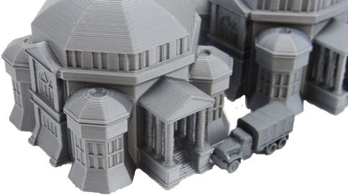 6mm Starfall Mansion detailed front view