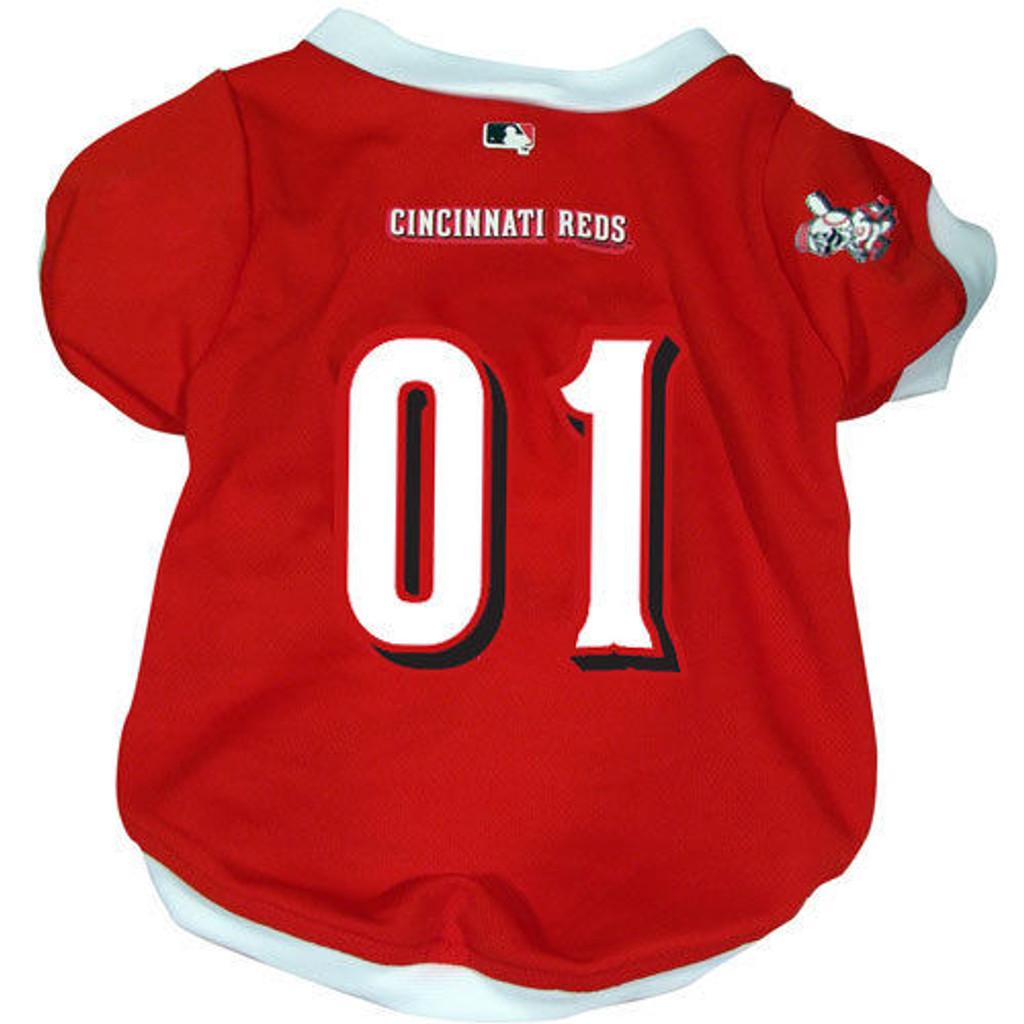 Cincinnati Reds Dog Pet Baseball Jersey