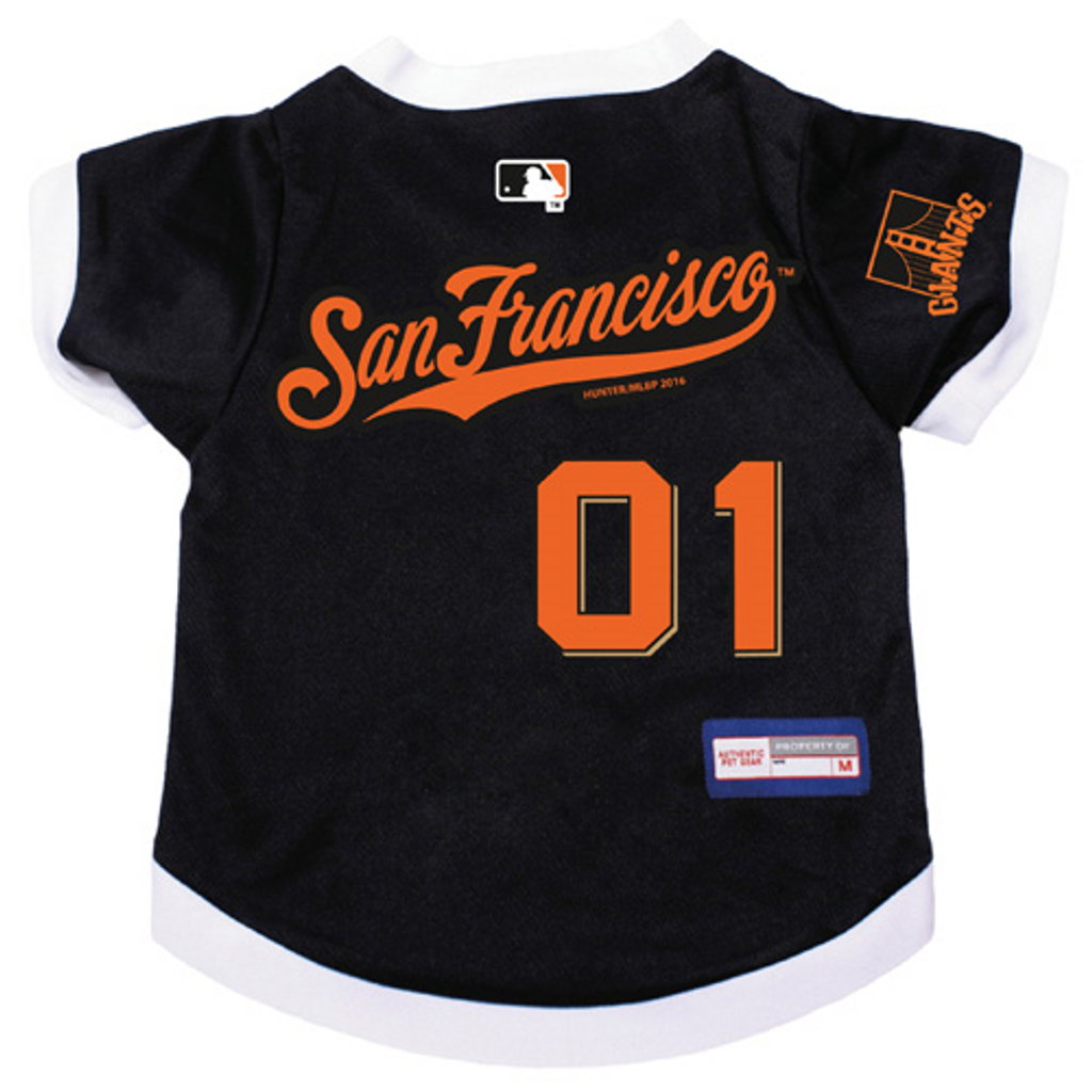 quality design 82fc4 10b05 San Francisco Giants Dog Pet Premium Baseball Jersey