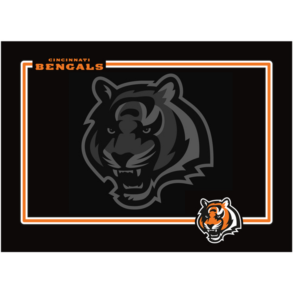 fbaa27f2 Cincinnati Bengals Dog Pet Neoprene Bowl Mat Placemat