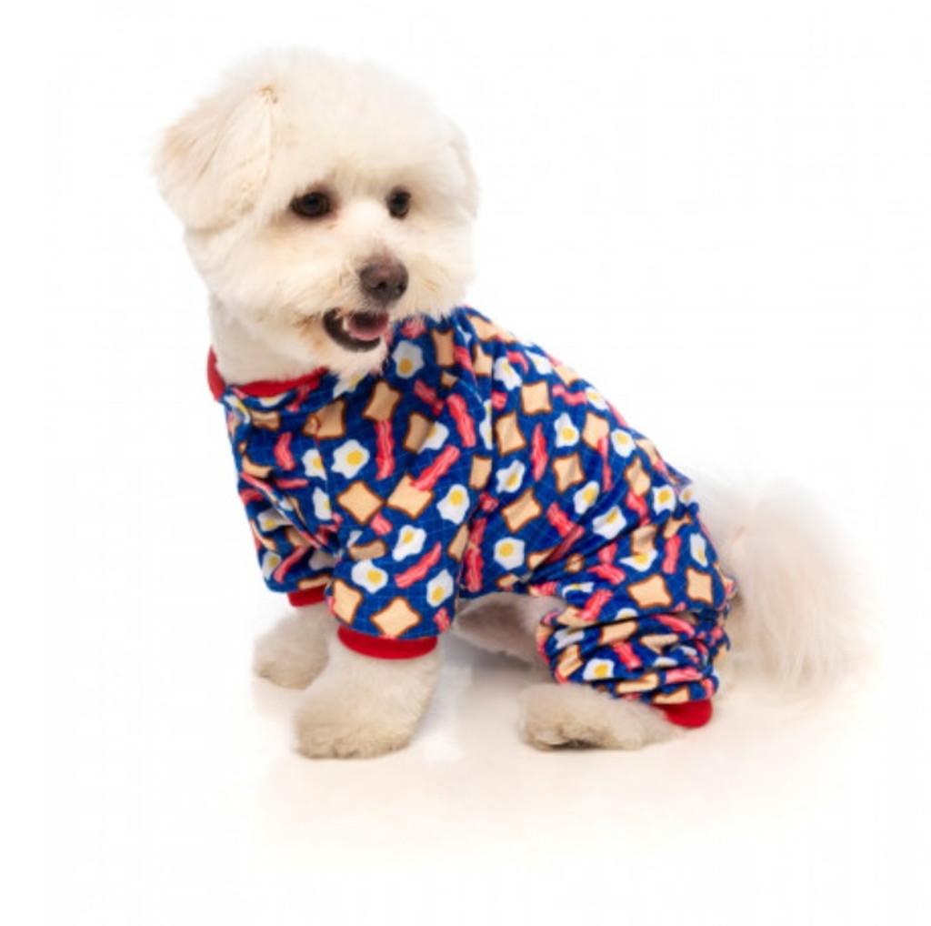 Bacon And Eggs Breakfast Dog Cat Premium Pajamas PJs Super Soft