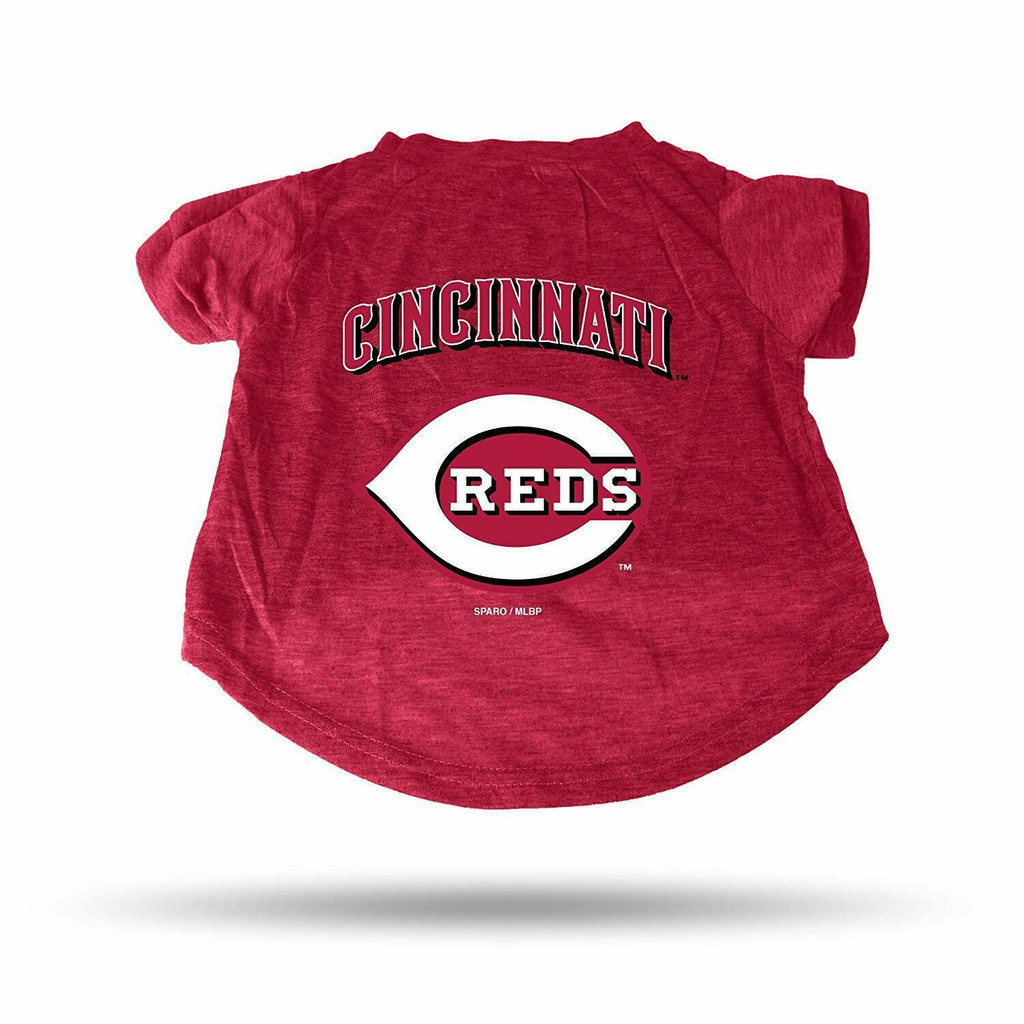 Cincinnati Reds Dog Cat T-Shirt Premium Tagless Tee