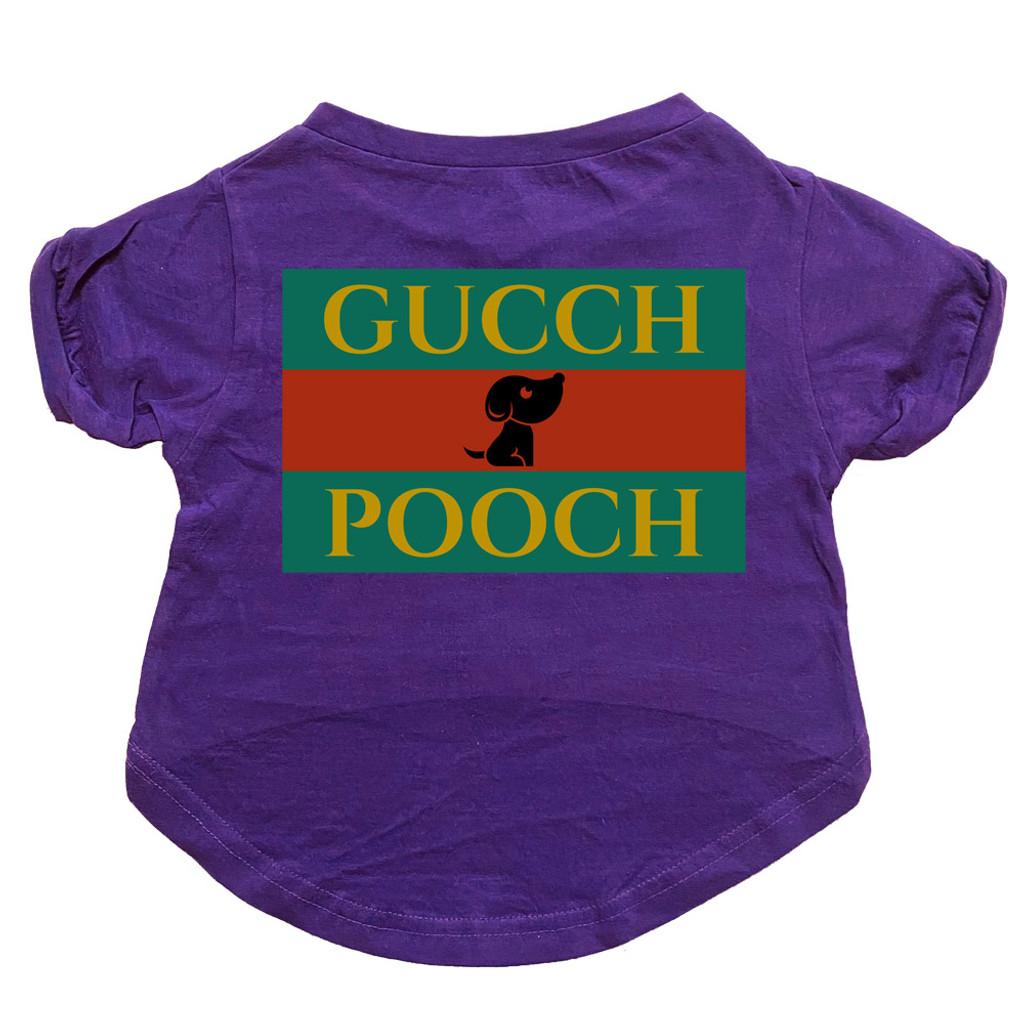 Gucch Pooch Dog T-Shirt Premium Tagless Tee