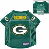 Green Bay Packers Dog Pet Premium Alternate Mesh Football Jersey