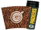 Green Bay Packers Latteam Coffee Art Travel Tumbler 16oz