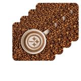 Pittsburgh Steelers Latteam Coffee Art 4pk Coaster Set Packaged
