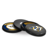 Nashville Predators Real Hockey Puck Coasters Set