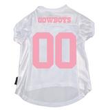 Dallas Cowboys Dog Pet Mesh Football Jersey PINK