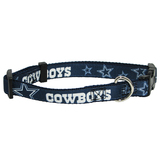 Dallas Cowboys Dog Pet Premium Adjustable Nylon Collar