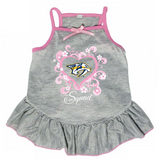 Nashville Predators Dog Pet Pink Too Cute Squad Jersey Tee Dress