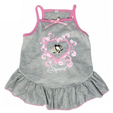 Pittsburgh Penguins Dog Pet Pink Too Cute Squad Jersey Tee Dress