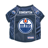 Edmonton Oilers Dog Pet Premium Mesh Hockey Jersey