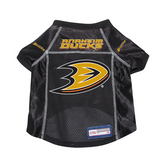 Anaheim Ducks Dog Pet Premium Mesh Hockey Jersey