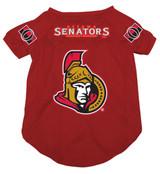 Ottawa Senators Dog Pet Mesh Hockey Jersey