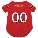 Ottawa Senators Dog Pet Mesh Alternate Hockey Jersey