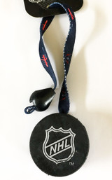 Washington Capitals Dog Hockey Puck Toy Toss Tug