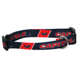 Washington Capitals Dog Pet Adjustable Nylon Collar