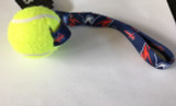 Washington Capitals Dog Tug Toss Toy Tennis Ball