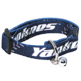 New York Yankees Cat Adjustable Safety Collar w/ Bell