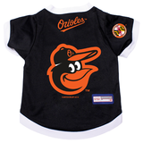 Baltimore Orioles Dog Pet Premium Baseball Jersey Alternate
