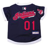 Cleveland Indians Dog Pet Premium Baseball Jersey
