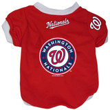 Washington Nationals Dog Pet Baseball Jersey Alternate