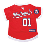 Washington Nationals Dog Pet Premium Baseball Jersey