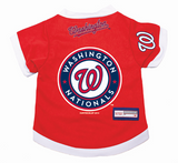 Washington Nationals Dog Pet Premium Baseball Jersey Alternate