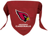Arizona Cardinals Dog Pet Mesh Football Jersey Bandana