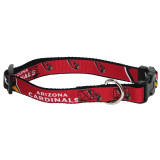 Arizona Cardinals Dog Pet Premium Adjustable Nylon Collar
