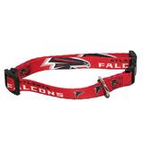 Atlanta Falcons Dog Pet Adjustable Nylon Collar