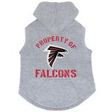 Atlanta Falcons Dog Pet Premium Button Up Property Of Hoodie Sweatshirt
